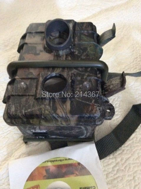 Free Shipping Wild Camouflage Hunting Cameras Trap as Outdoor Cameras for Hunter