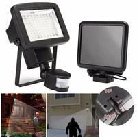 Super Bright LED Outdoor light 100 LED Solar Power Light Cold White PIR Motion Season Emergency Waterproof Wall Lamp