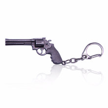 Hip Hop Simulation Weapon Model Keychain Male Mini M4A1 AK47 Gun Key Chain Car Keyring AWP Rifle Sniper Cool Punk Mens Jewelry(China)