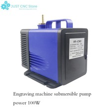 Engraving machine 100W submersible pump hmax4.5m voltage 220-240v Flow 4500L/H is suitable for cooling of fish tank mechanical e цена 2017