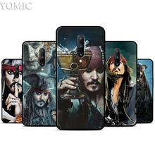 Pirates of the Caribbean Silicone Case for Oneplus 7 7Pro 5T 6 6T Black Soft Case for Oneplus 7 7 Pro TPU Phone Cover