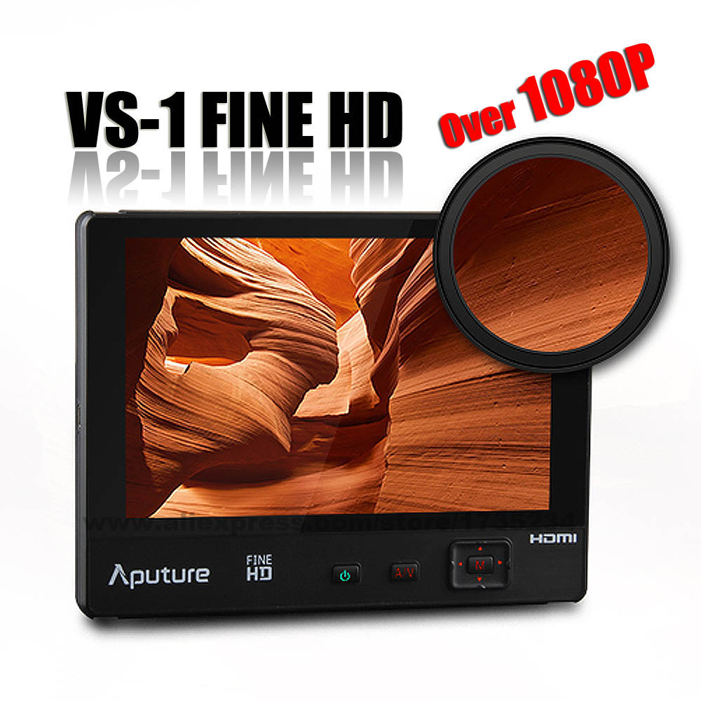 New Aputure VS-1 FineHD Video Monitor 7 1920*1200 HD LTPS Extra OSD Panel for Canon Nikon Sony DSLR Camera Camcorder GoPro GH4 5 packs 2 4ghz 13dbi 15dbi yagi wlan wifi wireless antenna for router