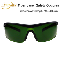Free Shipping Fiber Laser Safety Goggles Shield Protection Laser Safety Glasses For Fiber YAG Laser Cutting Engraving Machine