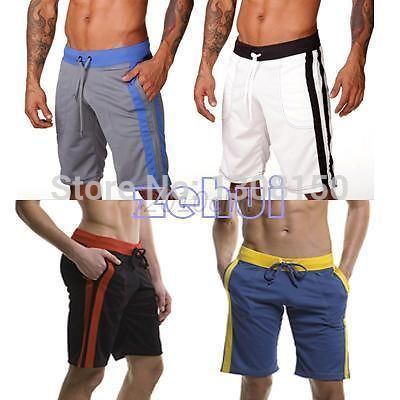 Casual Men s Soft Shorts Loose Casual Shorts White Black Red WIine Blue Gray