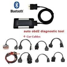 Профессиональный автомобильный Bluetooth TCS CDP Pro Plus для Autocom OBD2 Диагностический Инструмент+ 8 шт. набор автомобильных диагностических кабелей Прямая поставка