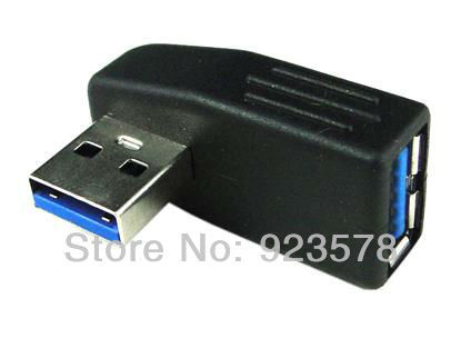 [DHL FREE SHIPPING!] WHOLESALE 50pcs/lot High Quality USB 3.0 Vertical Cable Adapter