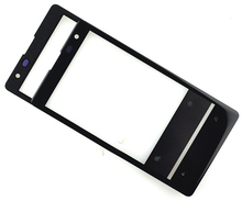 10pcs/lot High Quality Brand New Black Outer Glass Lens For Nokia Lumia 1020 Brand New Free Shipping With Logo