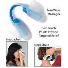 Electric Mini Massager Low Frequency for Headache and Neck Pain Reliever