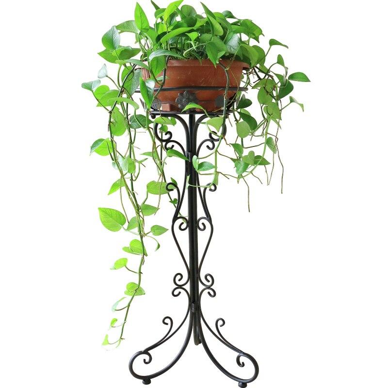 все цены на Outdoor Decorative Rack Planten Rek Shelves Varanda Balcony Decoration Terrasse Metal Balkon Flower Stand Balcon Plant Shelf