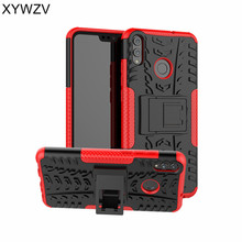 Huawei Honor 8X Case Shockproof Hard PC & Silicone Phone For Back Cover Shell Fundas