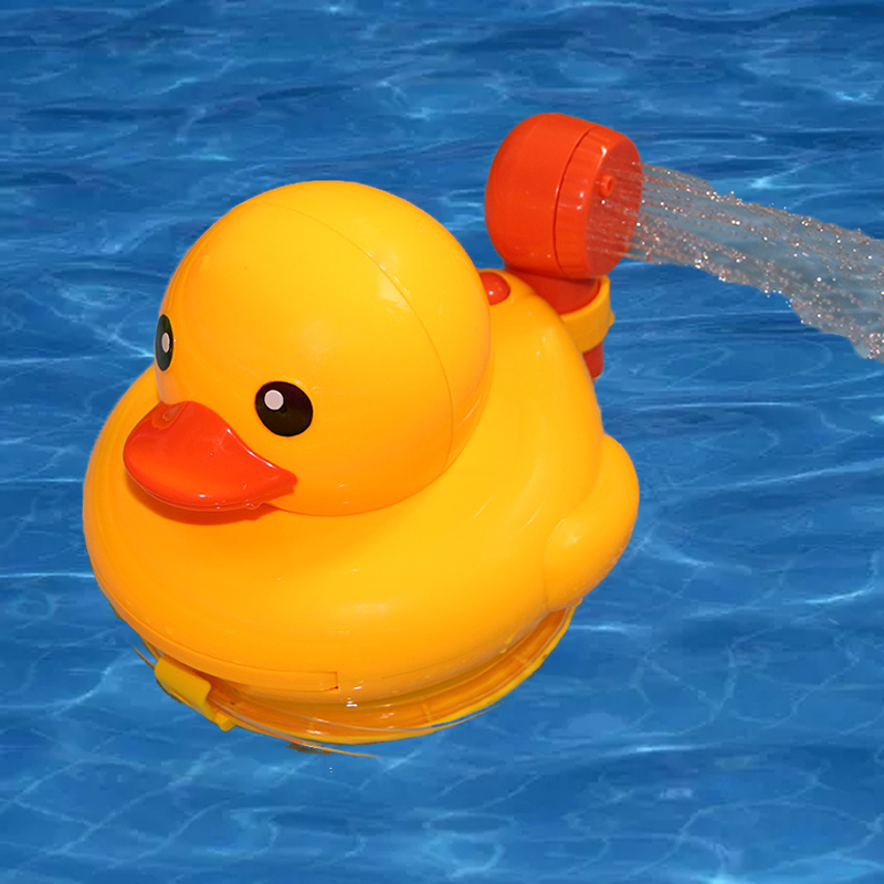 Yellow Duck Shower Head Baby Toys Sprinkler For Kids Faucet Backyard Bathing Swimming Garden Toy Bathroom Pool Bath In From