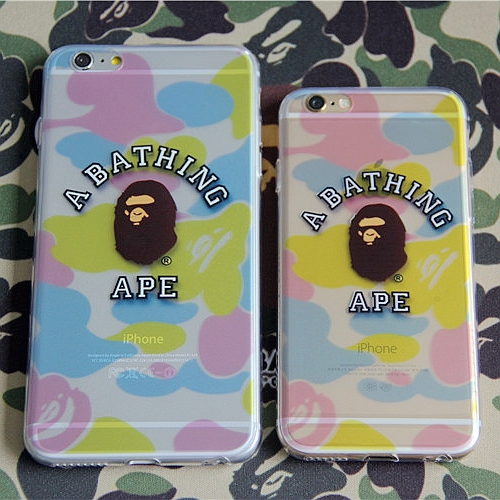 best loved c72c8 9882f US $9.9 |A Bathing Ape case for iphone 6 Plus case silicone Tide brand  Mobile phone case for iphone 6 shell scrub protective sleeve on  Aliexpress.com ...