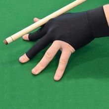 Snooker Billard Handschuh Stickerei Billard Handschuhe Links Hand Drei Finger Glatte Biliardo Billa Billard Zubehör 4,0 #
