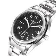 BOSCK 5147 estilo caliente de los hombres de gama alta de relojes, de acero inoxidable de lujo del reloj de la muñeca resto, watchbrand relojes de cuarzo de moda