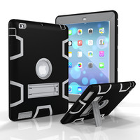 For Apple IPad 2 3 4 Retina Kids Baby Safe Armor Shockproof Heavy Duty Silicone Hard