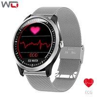 WQ N58 ECG Smart Bracelet ECG Measurement Blood Pressure Watch Fitness Bracelet Waterproof 1.22 inch 3D UI ECG PPG Smart Watch