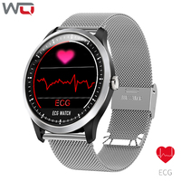 WQ N58 ECG Smart Bracelet ECG Measurement Blood Pressure Watch Fitness Bracelet Waterproof 1.22 inch 3D UI ECG PPG Smart Watch