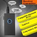 Levn BTI-010 Mini Portátil 3.5mm Jack de áudio 2 Em 1 Sem Fio bluetooth Adaptador transmissor Receptor transmissor de Áudio Para TV PC