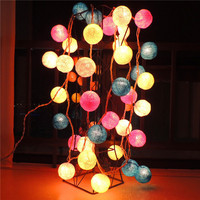 cotton ball lights Christmas festival decoration home decoration lights Thailand small night lamp LED lighting lamps