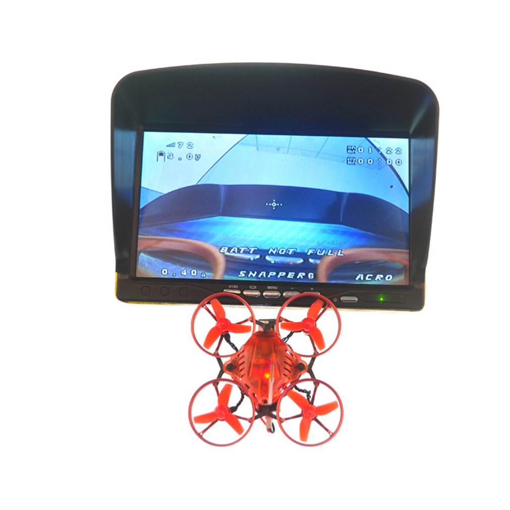 New Happymodel Snapper6 65mm Micro 1S Brushless FPV Racing RC Drone Quadcopter with F3 OSD BLHeli_S 5A ESC BNF Version Drone Toy new happymodel snapper6 65mm micro 1s brushless fpv racing rc drone quadcopter with f3 osd blheli s 5a esc bnf version drone toy