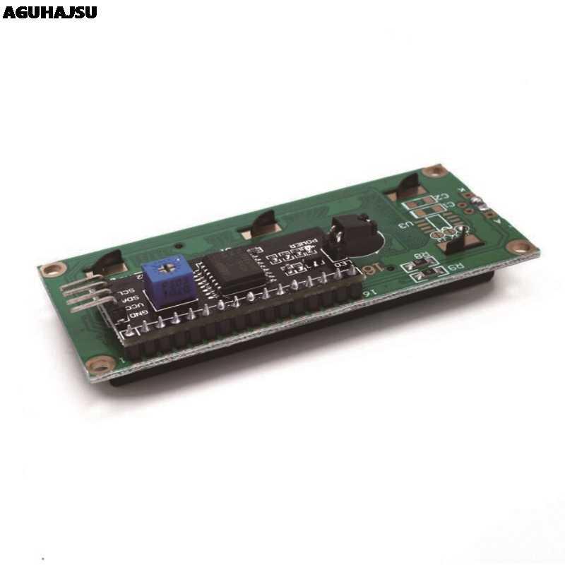 1 unids/lote módulo LCD pantalla azul verde IIC/I2C 1602 para arduino 1602 LCD UNO r3 mega2560 LCD1602