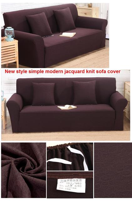 New style jacquard knit sofa cover all inclusive simple modern sofa cover anti - skid universal sofa cover  for XL 4seat