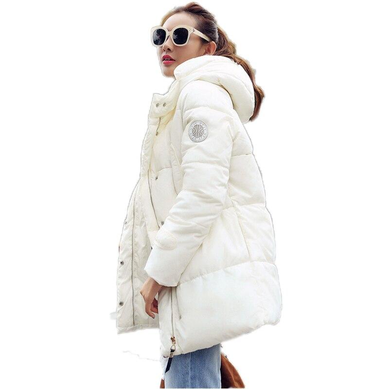 2016 Yeni Kış Ceket Kadın Moda Rahat Gevşek Casacos Feminino Artı Boyutu Kukuletalı Açık Havada Kadın Yastıklı Ceketler Coat