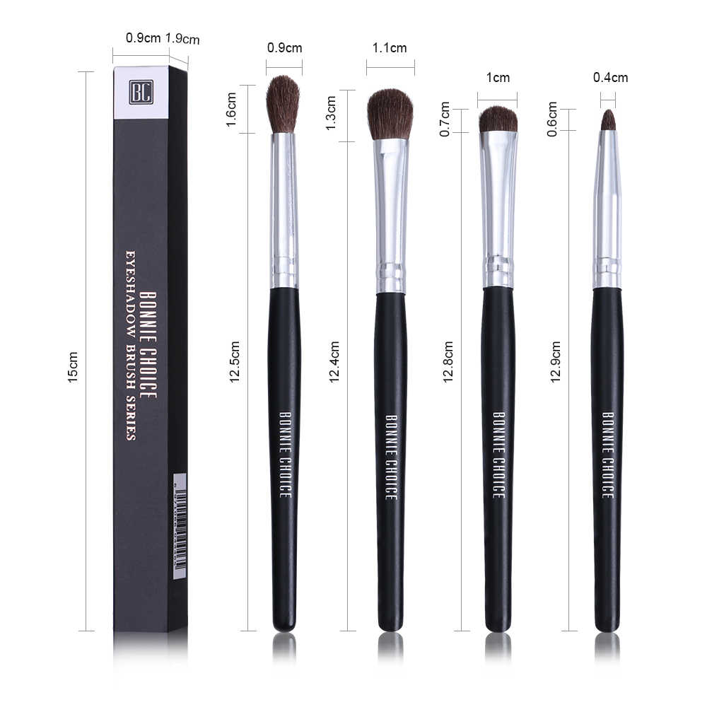 Bonnie Choice кисть для теней кисти для растушевки тени для глаз карандаш основа кисть для пудры инструмент для макияжа