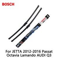 2pcs Lot Bosch Car AEROTWIN Wipers Windshield Wiper Blades Dedicated Wipers For JETTA 2012 2016 Passat