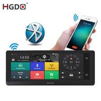 Hgdo 8 дюймов 4G автомобиля gps навигации DVR Android FHD 1080P видео Регистраторы регистраторы Bluetooth, Wi Fi Камера ADAS приложение Управление