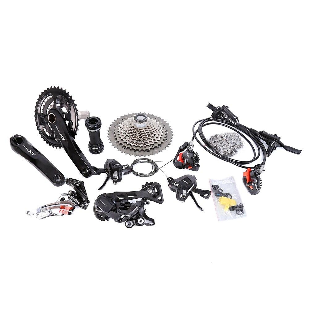 Shimano XT M8000 11 s 22 s 33 s vitesse XT kit vélo groupe pédalier manette de vitesse dérailleur arrière SGS 40 T 42 T 46 T Cassette 701 chaîne