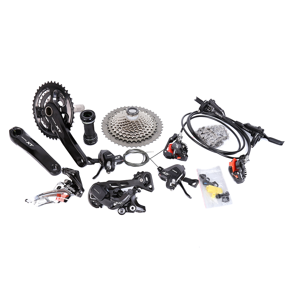 shimano XT M8000 11s 22s 33s speed XT bicycle kit groupset Crankset Shifter Rear derailleur SGS 40T 42T 46T Cassette 701 chain цена
