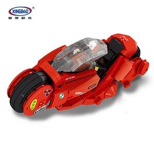 XINGBAO 03001 TECHNIC Series The Citizen Akira Moto Набор строительных блоков кубики MOC классическая модель мотоцикла Brinquedos