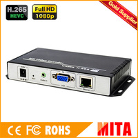 HD H.265 VGA iptv encoder for Live Streaming to VLC Media Server Xtream Codes