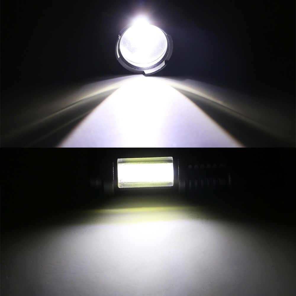 Z20Litwod SK68C LED Đèn Pin MINI XPE + COB Zoom Chống Nước Nhôm 4 Chế Độ Đèn Pin sử dụng 14500 hoặc Pin AA Cho cắm Trại làm việc