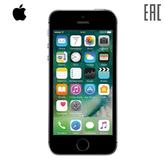 Смартфон Apple iPhone SE 16 ГБ c cертификатом EAC Официальная российская гарантия 1 год