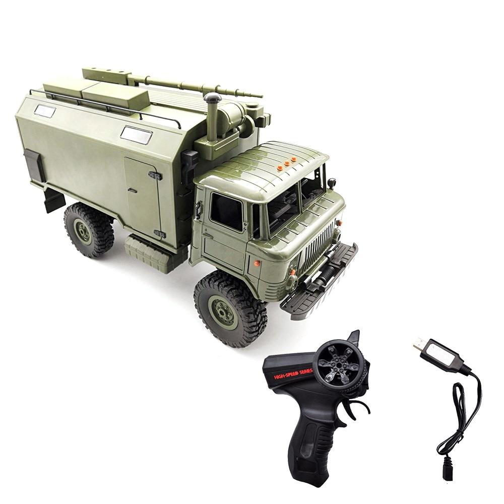 WPL B24 ZH 1 16 2 4G 4WD RC Truck Military Truck Rock Crawler Command Communication