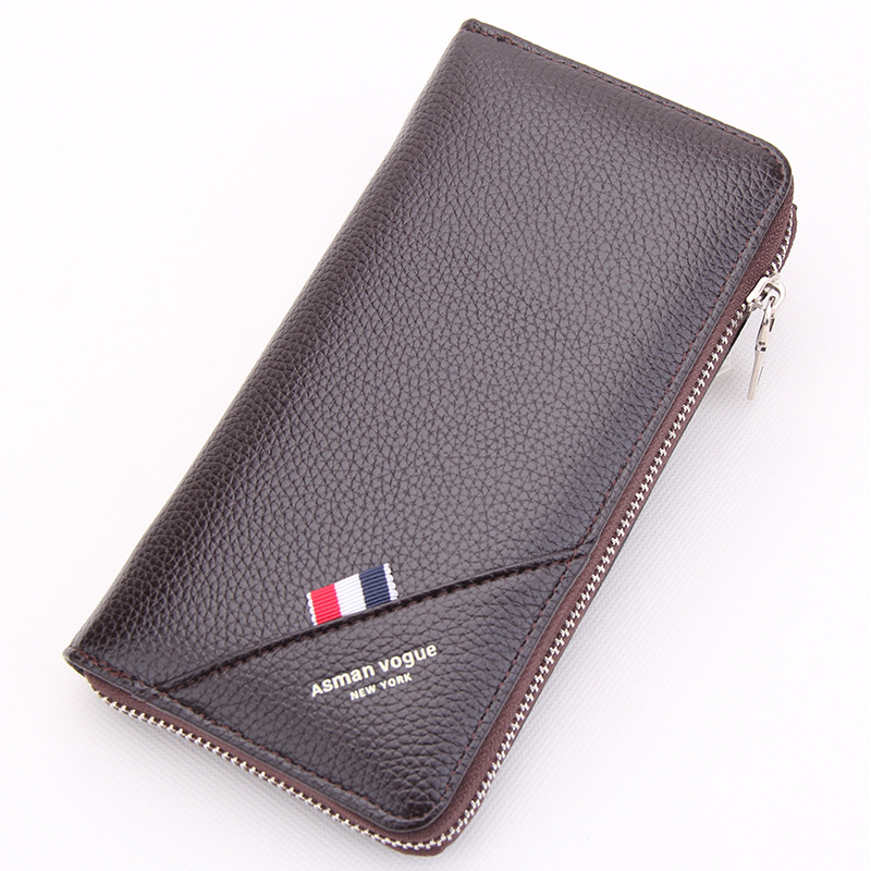 Top Quality PU leather long wallet men pruses male clutch zipper around wallets men women pocket mltifunction Hand Strap wallets double zipper men clutch bags high quality pu leather wallet man new brand wallets male long wallets purses carteira masculina