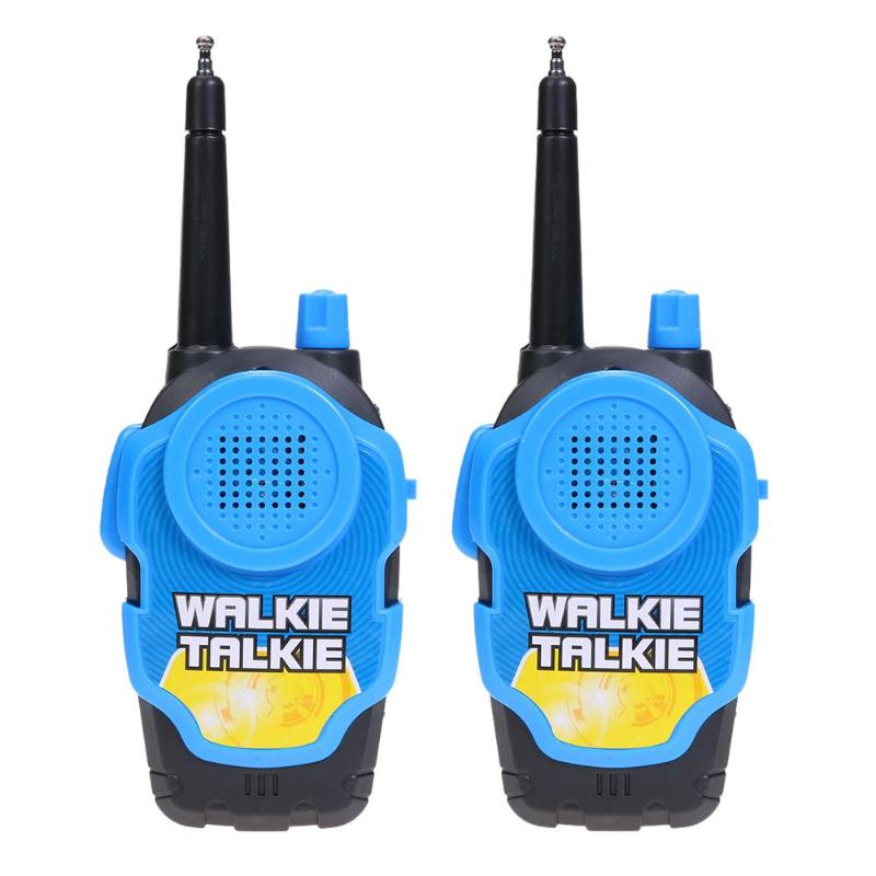 2pcs Electric Remote Intelligent Wireless Telephone Intercom Walkie Talkie Educational Toy Plastic Mini Parents Kids Interactive