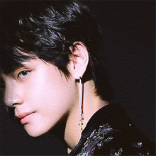 BTS Taehyung Style Earring