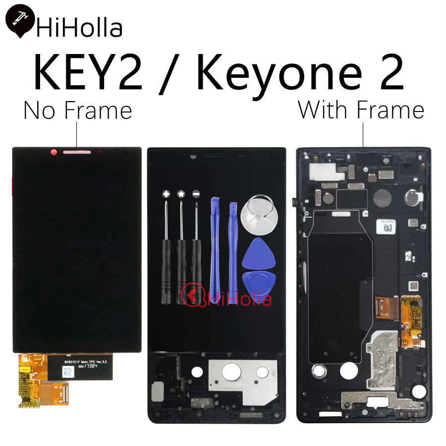 Para BlackBerry Key 2 LCD pantalla táctil digitalizador para BlackBerry Key2 LCD Keyone 2 KeyTwo pantalla con reemplazo de Marco-in Teléfono Móvil LCD pantallas from Teléfonos celulares y telecomunicaciones on AliExpress - 11.11_Double 11_Singles' Day 1