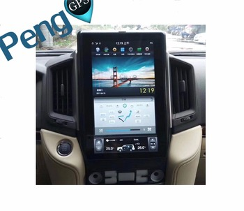13.6 Inch Large HD Screen Style Android 6.0 Car GPS Navigation DVD Player for TOYOTA LAND CRUISER LC200 2016-2018 Seat Heating фото