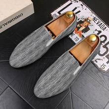 Luxury Casual Shoes Men Loafers Genuine Leather Flat Slip on Fashion Designer Shoes Men Silver Dress Shoes Footwear Male 2019 fashion sneakers leather men casual shoes zapatos hombre footwear male walking shoes designer men business shoes flat dress