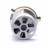 Creadvent Plug and play high power 20W 2000lm H4 motorcycle led light bulb  P43t HS1 motor head lamps 6000K white with fan 5