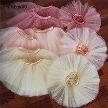 Baby Girls Tutu Skirt Fluffy Children Ballet Skirts Princess Party Dance Tulle miniskirt Ballerina Petticoat 100% Real Photos!