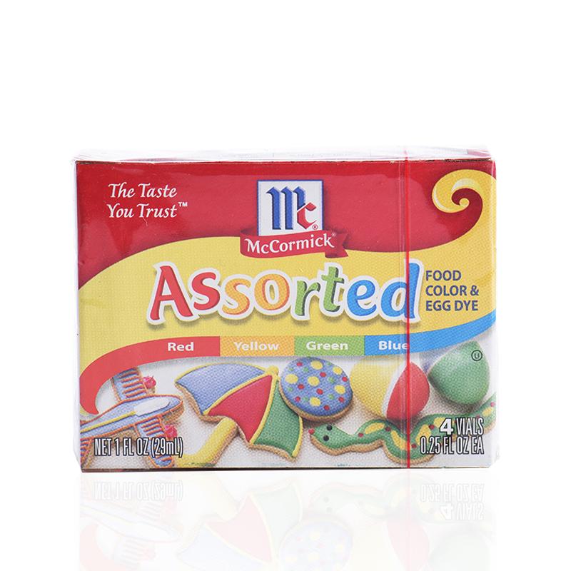 United States McCormick food coloring baking ingredients ...