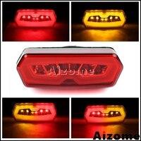 オートバイ赤統合 LED テールライト W/ホンダ CB650F CBR650F 14-2015 CTX700N 2013- 15 MSX Grom 125 13-2016