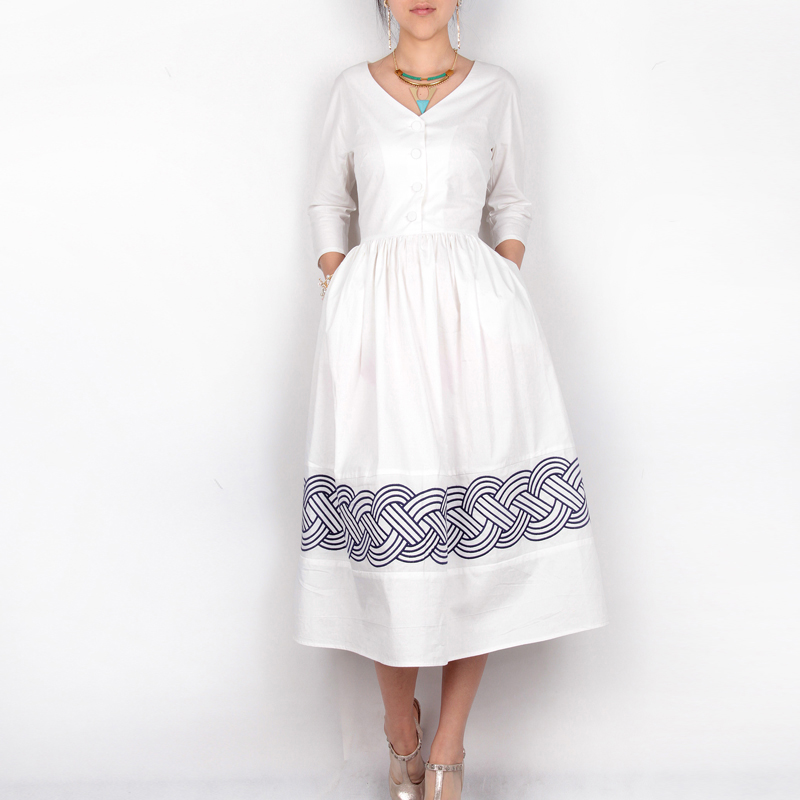 Compare Prices on White Cotton Dress- Online Shopping/Buy Low ...
