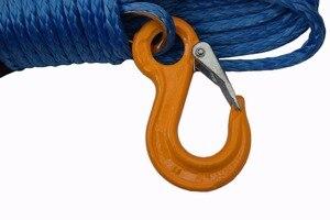 """Image 2 - Blau 10mm * 30m Synthetische Winde Seil hinzufügen 10 """"Hawse Seilführung, Off Road Seil, ersatz Synthetische Seil für Winde"""