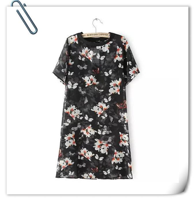 Graduation designer names Off Shoulder Asymmetric Hem Floral Printed Extra Short Sleeve Maxi Dresses urban resale